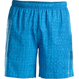 "saucony Sprint Woven 7"" Shorts Men Blue Aster"